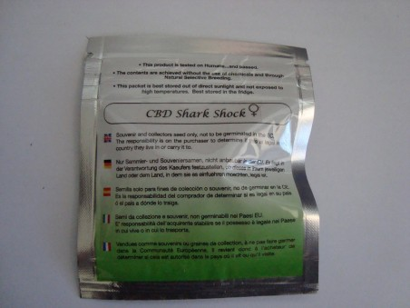 CBD Shark Shock - 5 ks